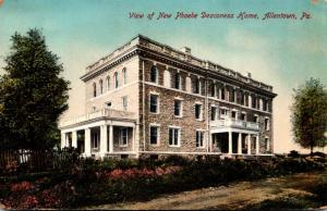 Pennsylvania Allentown View Of New Phoebe Deaconess Home