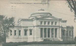 The Blackstone Library,  Branford, Connecticut, PU-1935