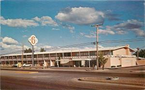 Las Cruces New Mexico~Motel 6~2 Story Sprawling~West Picacho Ave~1974 Postcard