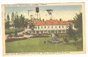 Le Kent House, Montmorency Falls, Quebec,  Canada,  PU-1941