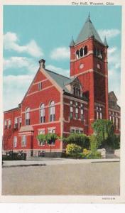 Ohio Wooster City Hall Curteich