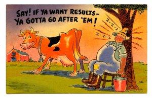 Humor - If ya want results
