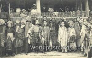 Vietnam, Viet Nam,  Nhân Vật Saigon Costumes et Acteurs Annamites