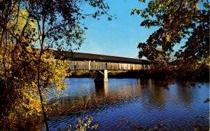 VT - Newbury. Covered Bridge on Route 5