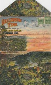 GATLINBURG , Tennessee ,1947 ; Folder Postcard