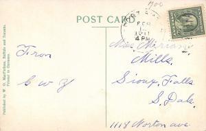 Davenport Iowa~Kirkwood Boulevard~Big Red Brick Mansion~Homes Across Street~1911
