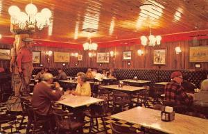 Wall South Dakota Wastern Art Gallery Cafe Dining Room Vintage Postcard JE229832