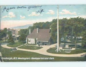 Pre-1907 PARK SCENE Newburgh New York NY hp9919