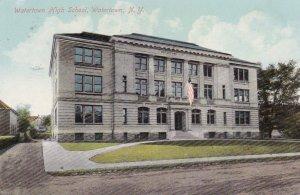WATERTOWN , New York , PU-1910 ; Watertown High School