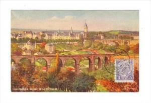 Luxembourg. Vallee de la Petrusse, 1923