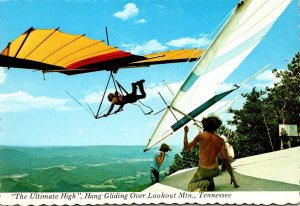 Tennessee Chattanooga Hang Gliding Over Lookout Mountain The Ultimate High