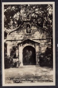 Chapel 1565,Fountain of Youth,St Augustine,FL