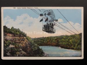 Canada NIAGARA FALLS Aero Cable c1929 Postcard