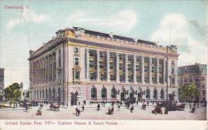Ohio Cleveland United States Post Office Custom House &  Court House