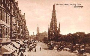 Princes Street Looking East Edinburgh Scotland, UK Unused