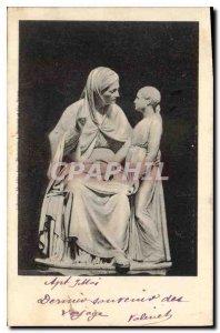 Postcard Ancient Statue