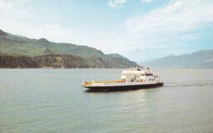 M.V. Balfour on Kootenay Lake , B.C. , Canada , 40-60s