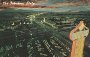 LAS VEGAS, Nevada, 40-60s; The Fabulous Strip, view at Night