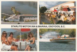 OSOYOOS , British Columbia , 50-70s ; Starlite Motor Inn & Marina