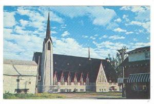 Cathedrale St, St Leonard, New Brunswick, Canada, 40-60s
