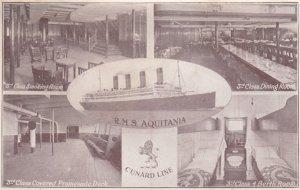 Cunard Line Ocean Liner R.M.S. Aquitania , 00-10s