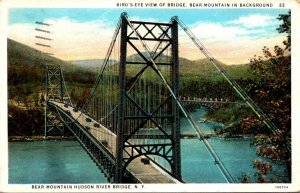 New York Bear Mountain Hudson River Bridge 1934