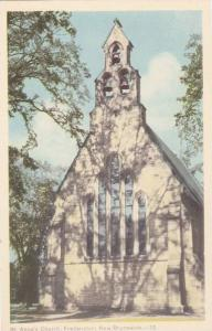 St. Anne's Church, Fredericton, New Brunswick, Canada, 1910-1920s