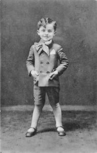 Košice Slovakia~Dashing Little Boy in Suit~Pekný Malý Chlapec v Obleku~RPPC 1910