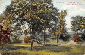 Grand Rapids Michigan~Addition to John Ball Park~Postcard