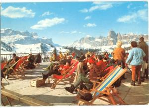 Italy, Dolomiti, Alta val Badia, Gruppo Sella e Sassongher, 1977 used Postcard