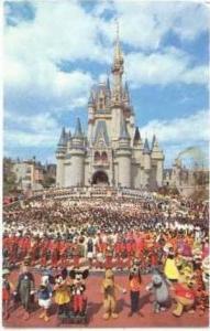 Disneyworld, Florida, PU-1974, Welcome!
