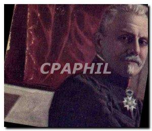 Postcard Former Army General Maunoury