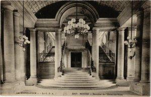 CPA ROUEN-Escalier de l'Hotel de Ville (348495)