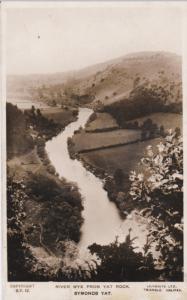 Symonds Yat, England , PU-1929 ; River Wye from Yat Rock