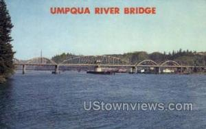 Umpqua River Bridge Reedsport OR Unused