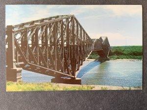 Le Pont de Quebec Bridge Quebec Canada Chrome Postcard H1189083557