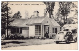 Skowhegan, Maine, Guest Cottage At Lakewood