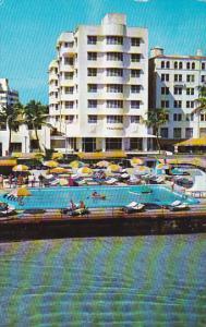 The Traymore Hotel Pool Miami Beach Florida 1959