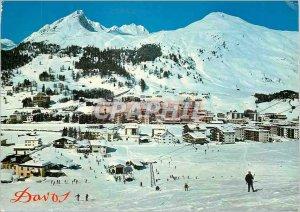 Modern Postcard Davos Dorf