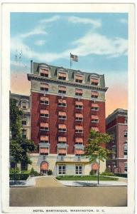Washington, D. C., View of The Hotel Martinique, 1931