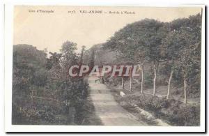Val Andre Old Postcard Arrive in Nantois