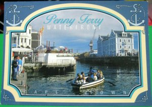 South Africa Penny Ferry The Waterfront Cape Town - posted 1996