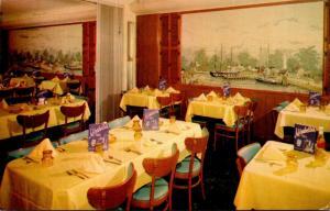 Florida Tampa Mirabella's Seafood Restaurant 1972