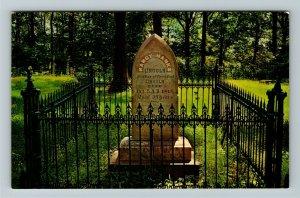 Lincoln City IN- Indiana, Grave of Nancy Hanks Lincoln, Chrome Postcard