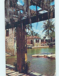1950's WATERFRONT BUILDINGS Postmarked Miami Florida FL AD5524