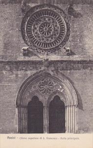 Italy Assisi Chiesa superiore di San Francesco Porta principale