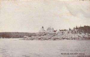 CAMDEN  , Maine , 00-10s ; Negro Island LIGHTHOUSE