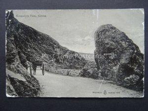 Scotland GIRVAN Kennedy's Pass c1906 Postcard by W.R.& S. Reliable 693