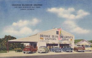 LARGO , Florida , 30-40s; Citrus Fruit Stand , Orange Blossom Groves