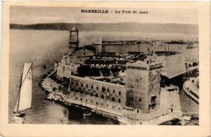 CPA MARSEILLE Le Fort St-JEAN (445269)